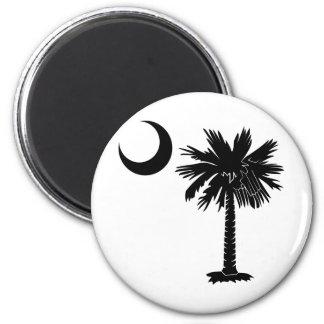 Black Palmetto Magnet