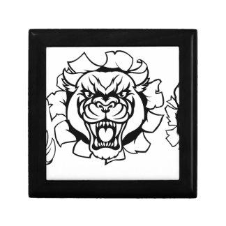 Black Panther Basketball Mascot Gift Box