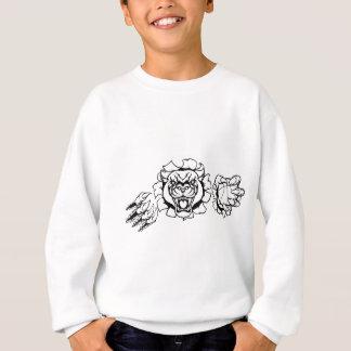 Black Panther Basketball Mascot Sweatshirt