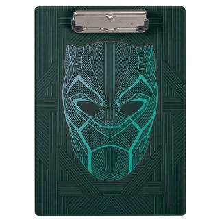 Black Panther | Black Panther Etched Mask Clipboard