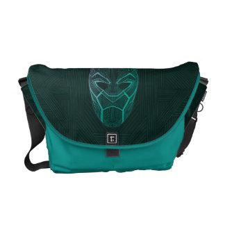 Black Panther | Black Panther Etched Mask Commuter Bag