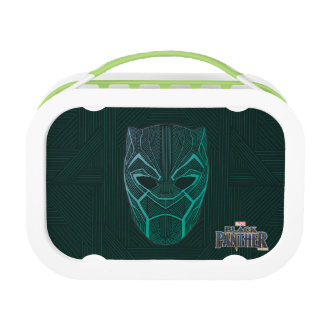 Black Panther | Black Panther Etched Mask Lunch Box