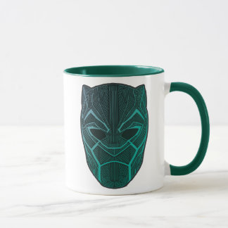 Black Panther | Black Panther Etched Mask Mug