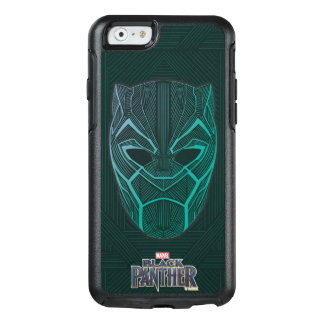 Black Panther | Black Panther Etched Mask OtterBox iPhone 6/6s Case