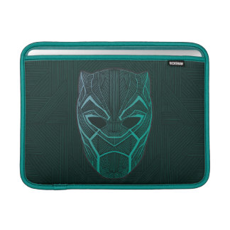 Black Panther | Black Panther Etched Mask Sleeve For MacBook Air
