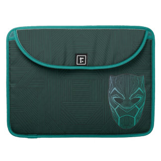 Black Panther | Black Panther Etched Mask Sleeve For MacBook Pro