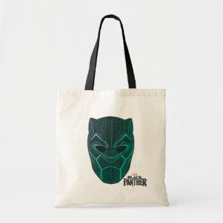 Black Panther | Black Panther Etched Mask Tote Bag