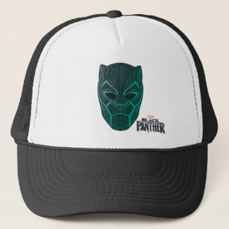 Black Panther | Black Panther Etched Mask Trucker Hat
