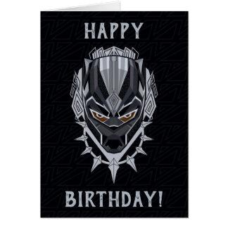 Black Panther | Black Panther Head Emblem Card