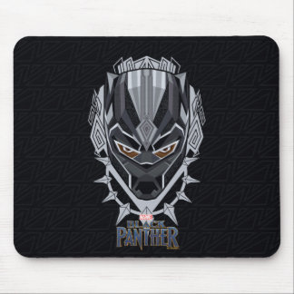 Black Panther | Black Panther Head Emblem Mouse Mat