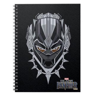 Black Panther | Black Panther Head Emblem Notebook