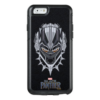 Black Panther | Black Panther Head Emblem OtterBox iPhone 6/6s Case