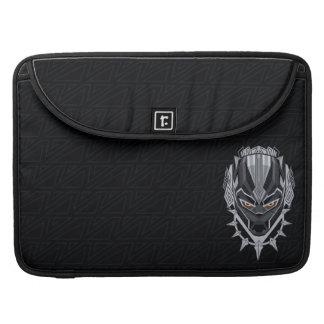 Black Panther | Black Panther Head Emblem Sleeve For MacBooks