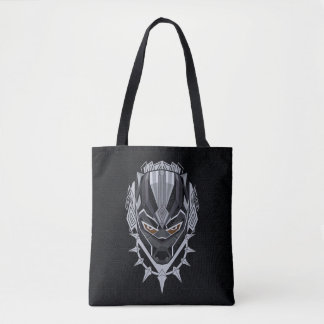 Black Panther | Black Panther Head Emblem Tote Bag