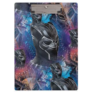 Black Panther | Black Panther & Mask Pattern Clipboard
