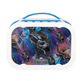 Black Panther | Black Panther & Mask Pattern Lunch Box