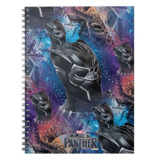 Black Panther | Black Panther & Mask Pattern Notebook