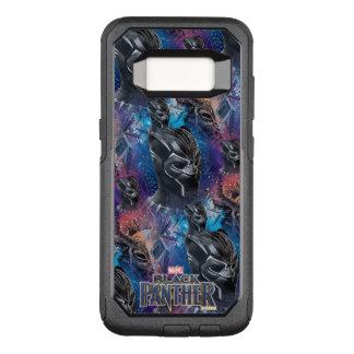 Black Panther   Black Panther & Mask Pattern OtterBox Commuter Samsung Galaxy S8 Case