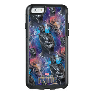 Black Panther | Black Panther & Mask Pattern OtterBox iPhone 6/6s Case