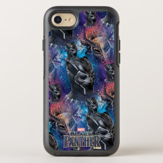 Black Panther | Black Panther & Mask Pattern OtterBox Symmetry iPhone 8/7 Case