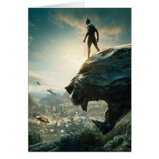 Black Panther | Black Panther Standing Atop Lair Card