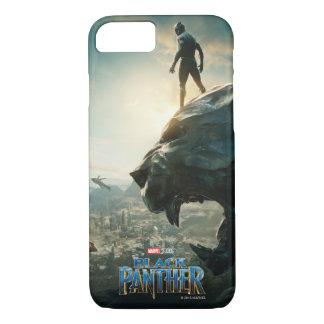 Black Panther | Black Panther Standing Atop Lair iPhone 8/7 Case