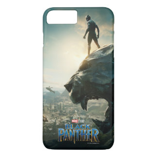 Black Panther | Black Panther Standing Atop Lair iPhone 8 Plus/7 Plus Case
