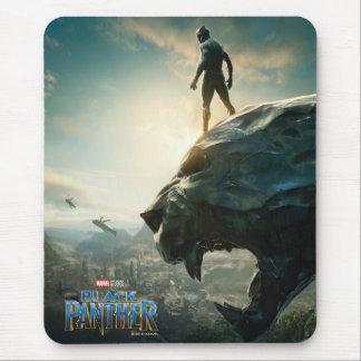 Black Panther | Black Panther Standing Atop Lair Mouse Mat