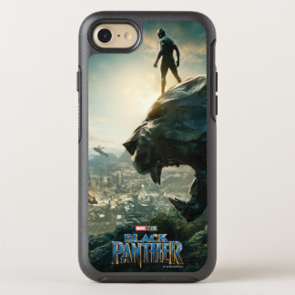 Black Panther | Black Panther Standing Atop Lair OtterBox Symmetry iPhone 8/7 Case
