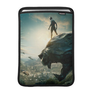 Black Panther | Black Panther Standing Atop Lair Sleeve For MacBook Air