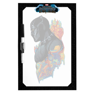 Black Panther   Black Panther Tribal Graffiti Dry Erase Board