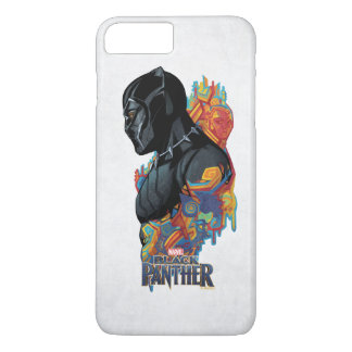 Black Panther | Black Panther Tribal Graffiti iPhone 8 Plus/7 Plus Case