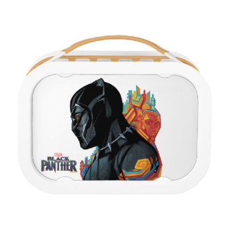 Black Panther | Black Panther Tribal Graffiti Lunch Box