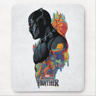 Black Panther | Black Panther Tribal Graffiti Mouse Mat