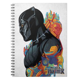 Black Panther | Black Panther Tribal Graffiti Notebook