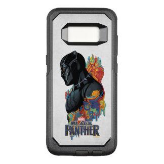 Black Panther   Black Panther Tribal Graffiti OtterBox Commuter Samsung Galaxy S8 Case