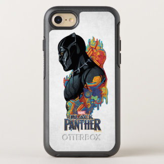 Black Panther | Black Panther Tribal Graffiti OtterBox Symmetry iPhone 8/7 Case