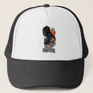 Black Panther | Black Panther Tribal Graffiti Trucker Hat