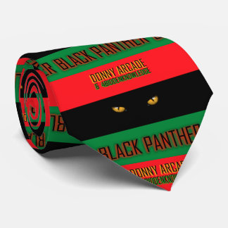 Black Panther By Donny Arcade and 4biddenknowledge Tie