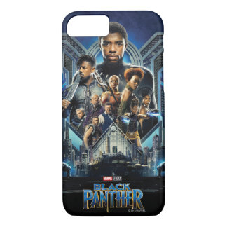 Black Panther | Characters Over Wakanda iPhone 8/7 Case