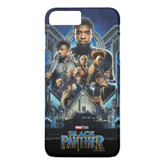 Black Panther | Characters Over Wakanda iPhone 8 Plus/7 Plus Case