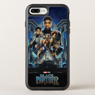 Black Panther | Characters Over Wakanda OtterBox Symmetry iPhone 8 Plus/7 Plus Case