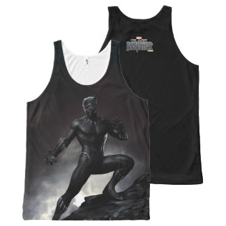 Black Panther   Claws Out All-Over Print Tank Top
