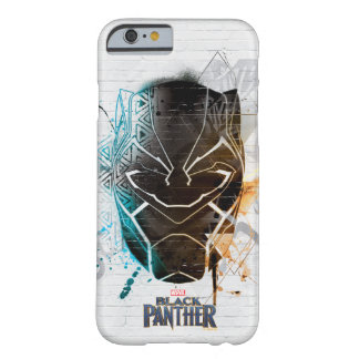 Black Panther | Dual Panthers Street Art Barely There iPhone 6 Case