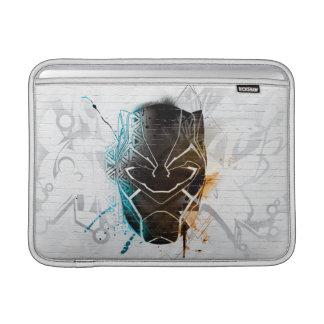 Black Panther | Dual Panthers Street Art MacBook Sleeve