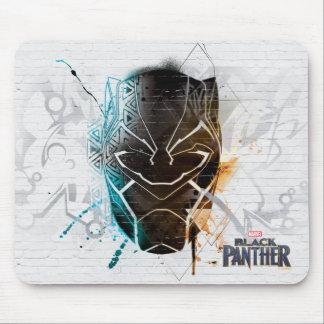 Black Panther | Dual Panthers Street Art Mouse Mat