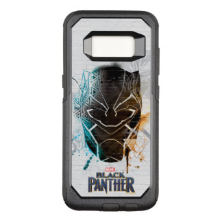 Black Panther   Dual Panthers Street Art OtterBox Commuter Samsung Galaxy S8 Case