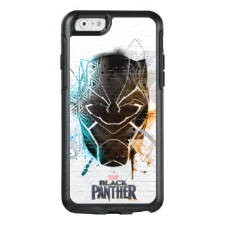 Black Panther | Dual Panthers Street Art OtterBox iPhone 6/6s Case