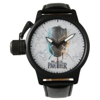 Black Panther | Dual Panthers Street Art Watch