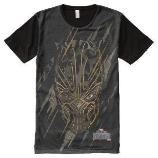 Black Panther | Erik Killmonger Claw Marks All-Over Print T-Shirt